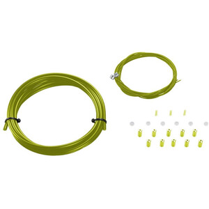 KCNC MTB Brake Housing & Wire Kit, vert vert