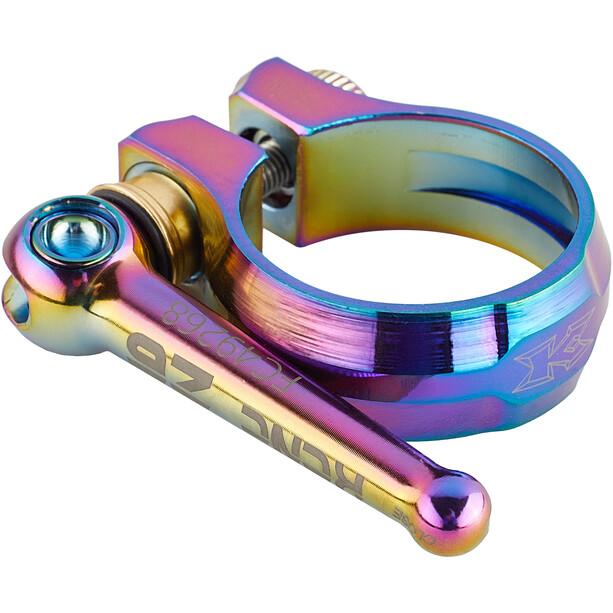 KCNC SC12 QR Saddle Clamp Ø34,9mm, Multicolore