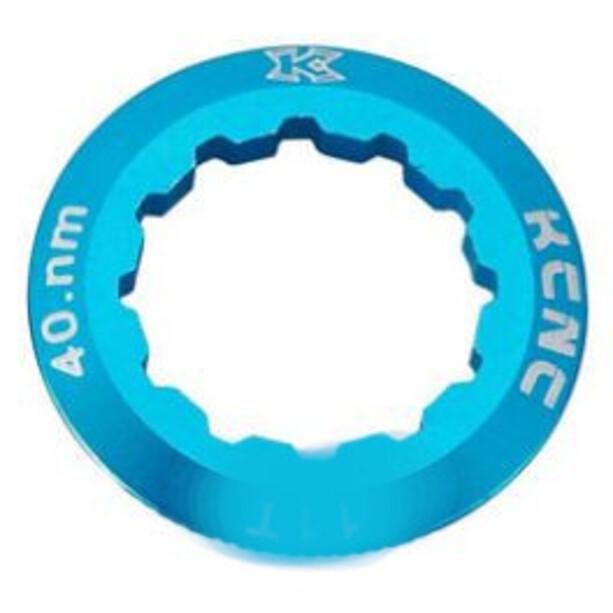 KCNC Shimano Kassetten Lockring 10/11/12-fach 12Z blau