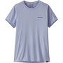 Patagonia Capilen Cool Daily Graphic Shirt Women blå