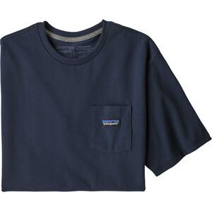 Patagonia P-6 Label Pocket Responsibili-Tee Men blå blå