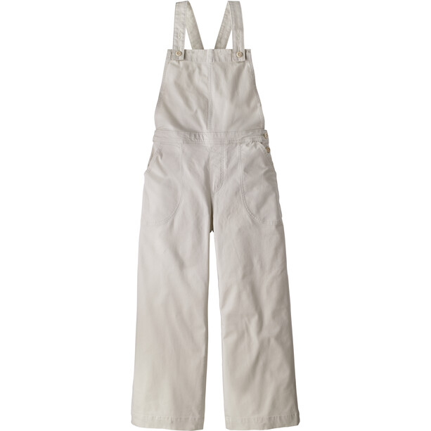 Patagonia Stand Up Cropped Overalls Women dyno white
