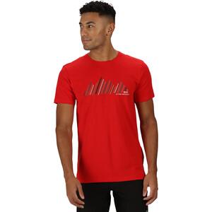 Regatta Breezed T-Shirt Herren chinese red chinese red