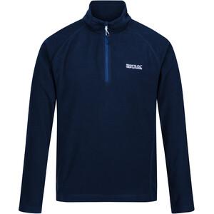 Regatta Montes LS Fleeceshirt Herren blau blau