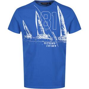 Regatta Cline IV Camiseta Hombre, azul azul