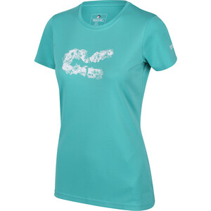 Regatta Fingal V Camiseta Mujer, Turquesa Turquesa