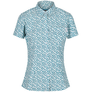 Regatta Mindano V T-Shirt Femme, bleu/blanc bleu/blanc