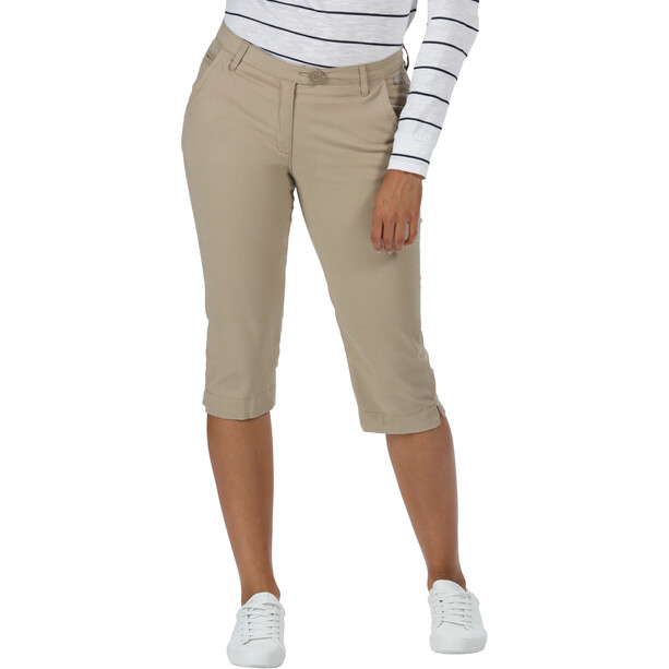 Regatta Maleena II Capri Pants Women, nutmeg cream