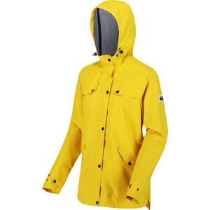 Regatta Bertille Chaqueta Impermeable Mujer, amarillo amarillo