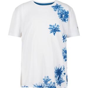 Regatta Alvarado V Camiseta Niños, blanco/azul blanco/azul