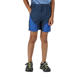 Regatta Sorcer Mountain Shorts Kinder dark denim/nautical blue dark denim/nautical blue