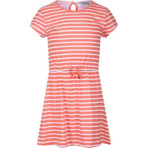 Regatta Catriona Dress Kids, rood/wit rood/wit