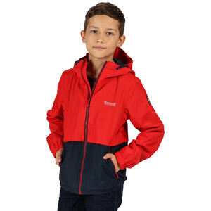 Regatta Haskel Jacke Kinder true red/navy true red/navy