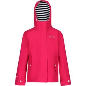 Regatta Bibiana Waterproof Shell Jacke Kinder pink pink