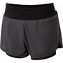 Dare 2b Outrun Shorts Damen ebony grey/black