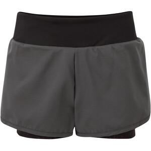 Dare 2b Outrun Shorts Damen grau/schwarz grau/schwarz
