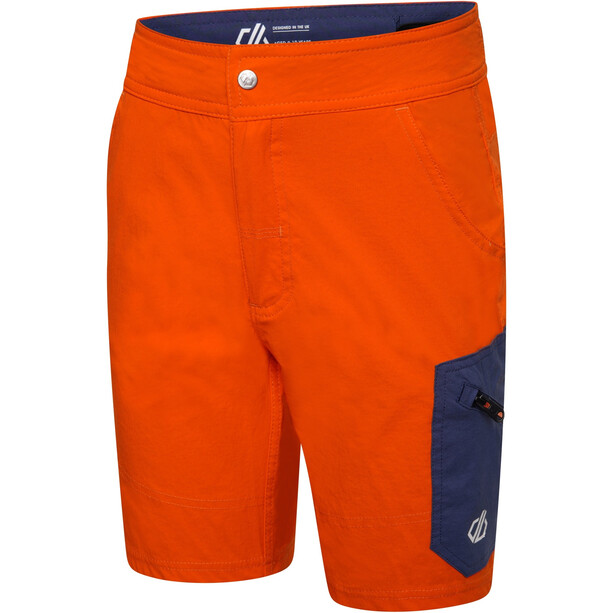 Dare 2b Reprise Shorts Kinder blaze orange/dark denim