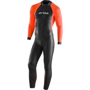 ORCA Core Hi-Vis Wetsuit Men, zwart/oranje zwart/oranje