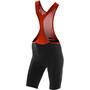 ORCA Customer Bib Shorts Women, black orange