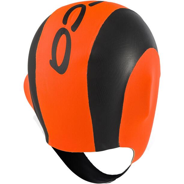ORCA High Vissibility Neoprene Badekappe orange