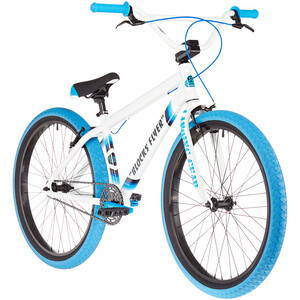 """SE Bikes Blocks Flyer 26"""" weiß/blau weiß/blau"""