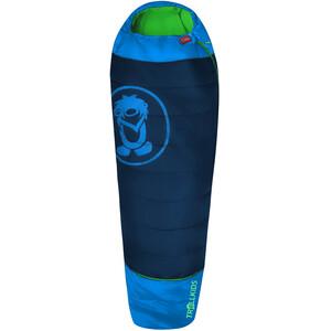 TROLLKIDS Fjell Dreamer Sleeping Bag Extendable Kids, azul azul