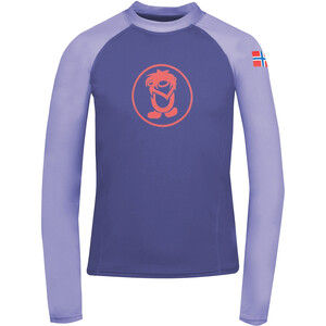TROLLKIDS Kvalvika Shirt Kids, violet violet