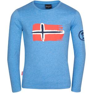 TROLLKIDS Oslo Langarmshirt Kinder blau blau