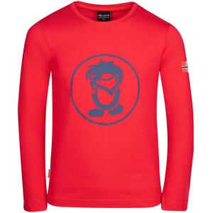 TROLLKIDS Troll Longsleeve Shirt Kids bright red/mystic blue bright red/mystic blue