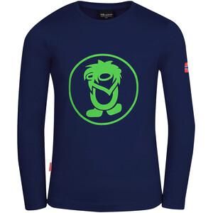 TROLLKIDS Troll Longsleeve Shirt Kids, blauw blauw