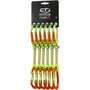 Climbing Technology Nimble Evo Pro Expressschlinge DY 12cm 6er Pack orange/green