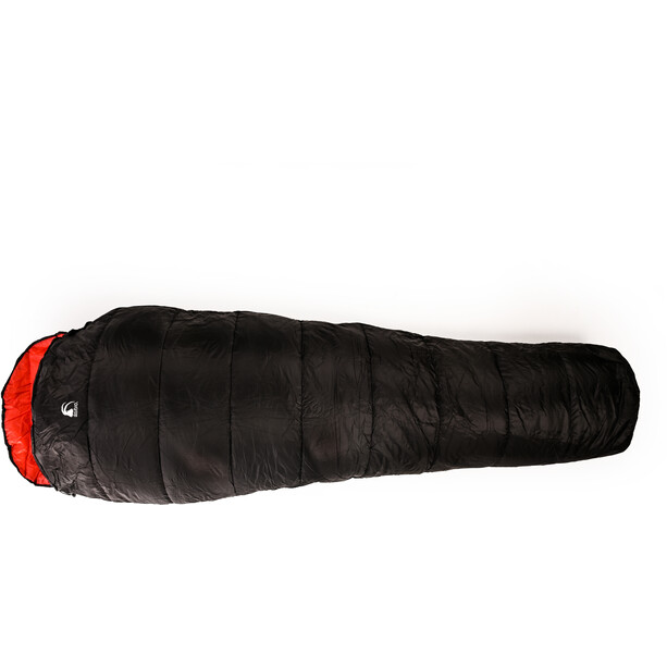 Alvivo Ibex Loft 80 Schlafsack 210cm black/red