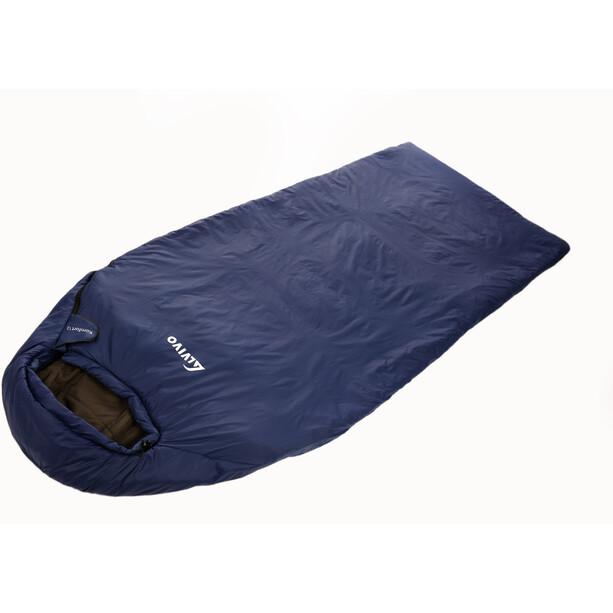 Alvivo Komfort 12 Schlafsack 215cm schwarz/blau