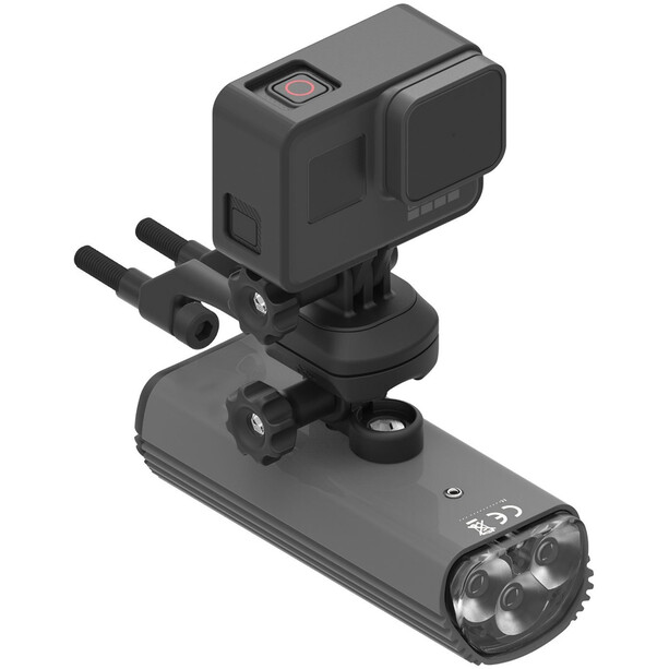 Lezyne X-Lock Duo Lenkerhalterung für GPS & LED black