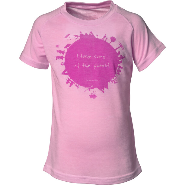 Isbjörn Earth Short Sleeve Shirt Kids frost pink