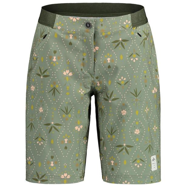 Maloja AnemonaM. Printed Multisport Shorts Damen grün