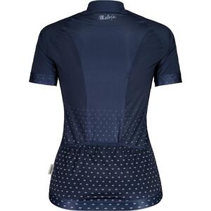 Maloja HaslmausM. 1/2 Short Sleeve Bike Jersey Women, bleu bleu