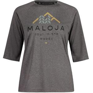 Maloja HimbeereM. All Mountain Jersey 3/4-ärm Dam grå grå
