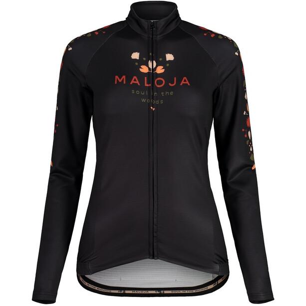 Maloja RubinieM. 1/1 Langarm Fahrrad Trikot Damen moonless