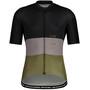 Maloja WeisstanneM. 1/2 Short Sleeve Bike Jersey Men, noir/olive