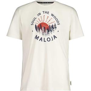 Maloja HeckenkirscheM. SS T-Shirt Men, blanc blanc