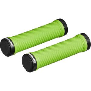 Spank Spoon Lock-On Handtag svart/grön svart/grön