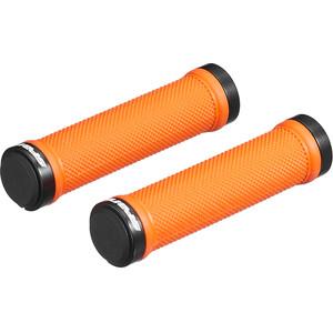 Spank Spoon Lock-On Handtag svart/orange svart/orange