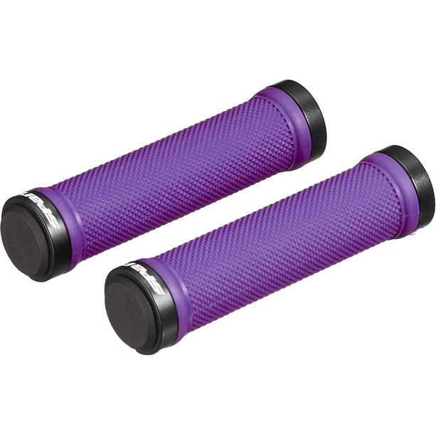 Spank Spoon Lock-On Poignées, noir/violet