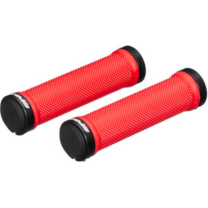 Spank Spoon Lock-On Grips red red