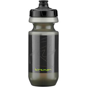 Birzman Vandflaske 550 ml med høj-flow ventil, sort sort