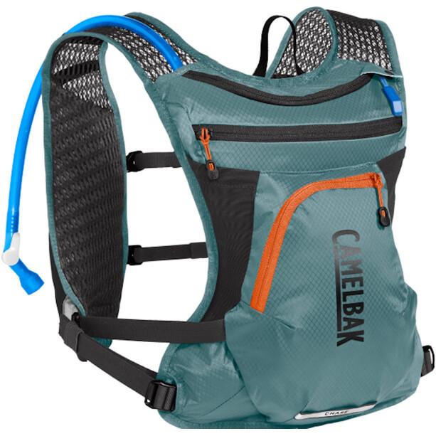 CamelBak Chase Bike Drink Vest 2l+1,5l, Bleu pétrole