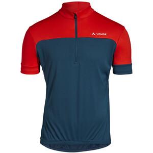 VAUDE Mossano V T-shirt Herr blå/röd blå/röd