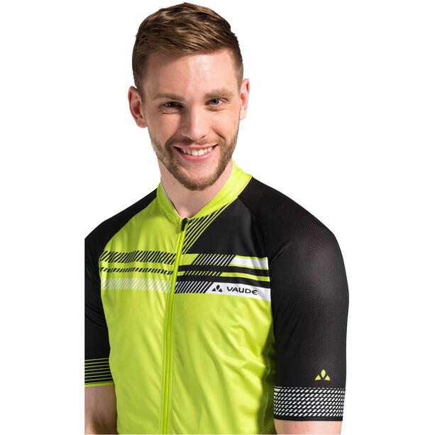 VAUDE Pro III Trikot Herren bright green/black