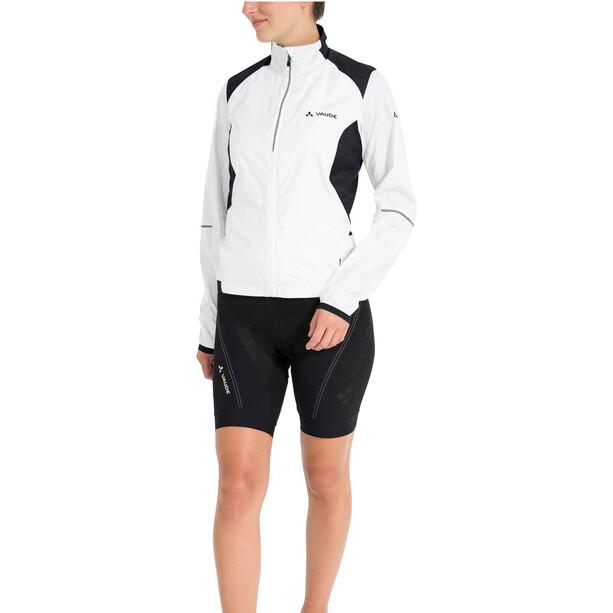 VAUDE Air Pro Jacke Damen weiß/schwarz